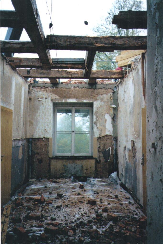 Sanierung des Herrenhauses Schönfeld