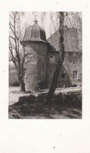 Altes Schloss Gut Nieden Landschaft MV